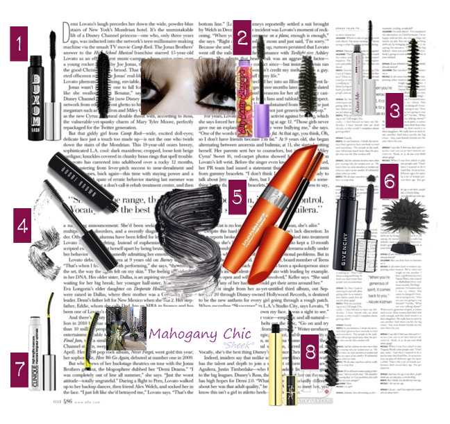 Lashes To Die For: Mascara Review | Mz Mahogany Chic